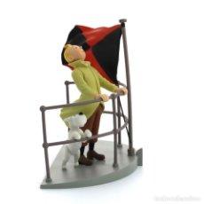 Figuras de Goma y PVC: TINTIN AURORE COFFRET SCENE PLASTIQUE - NUEVA EN CAJA ORIGINAL. Lote 236506020