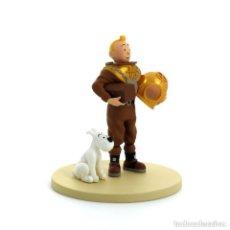 Figuras de Goma y PVC: TINTIN SCAPHANDRE COFFRET SCENE PLASTIQUE - NUEVA EN CAJA ORIGINAL. Lote 139442990