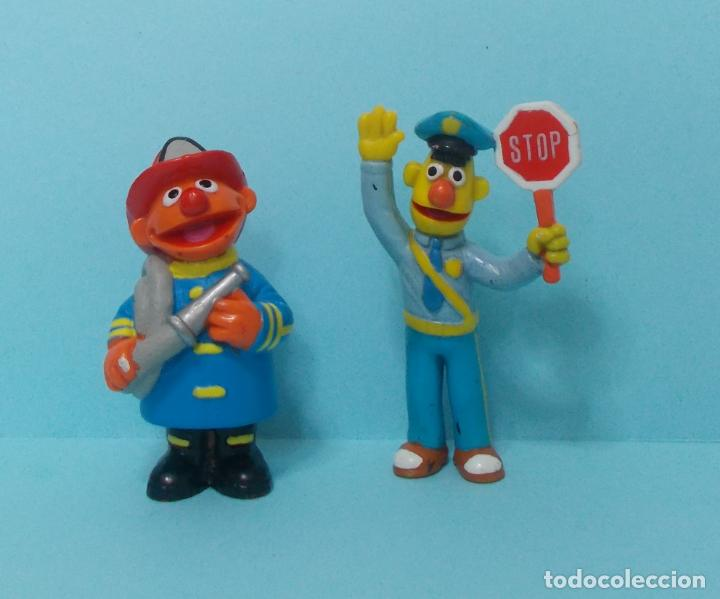 BARRIO SESAMO / SESAME STREET - EPI Y BLAS - APPLAUSE (Juguetes - Figuras de Goma y Pvc - Otras)
