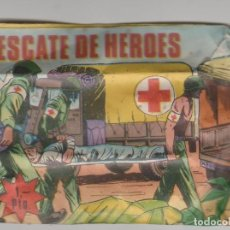 Figuras de Goma y PVC: LOTE V-MINI SOBRE TIPO MONTAPLEX CRUZ ROJA AÑOS 70 RESCATE DE HEROES MILITAR BELICO ENVIO GRATIS. Lote 194398096