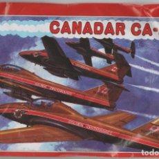 Figuras de Goma y PVC: SOBRE TAMAÑO GRANDE TIPO MONTAPLEX AVION CANADAR CA-4A. Lote 191925296