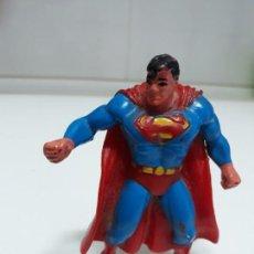 Figuras de Goma y PVC: FIGURA DE GOMA SUPERMAN COMICS SPAIN 1992. Lote 139399398