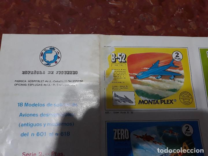 Figuras de Goma y PVC: MONTAPLEX- CATALOGO DESPLEGABLE SERIE 600-MUY RARO!!!! - Foto 2 - 139589830