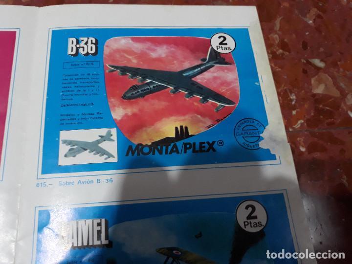 Figuras de Goma y PVC: MONTAPLEX- CATALOGO DESPLEGABLE SERIE 600-MUY RARO!!!! - Foto 3 - 139589830