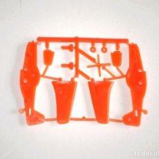 Figuras de Goma y PVC: BIMBO PREMIUM AVIÓN MUSTANG - DUNKIN - REGALO PASTELITOS SIMILAR MONTAPLEX - COLOR NARANJA RAREZA. Lote 139602302