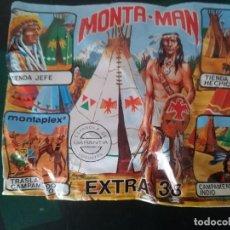 Figuras de Goma y PVC: SOBRE MONTAMAN EXTRA 38 -REF-M2E4. Lote 139641322