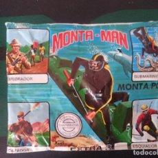 Figuras de Goma y PVC: SOBRE MONTAMAN EXTRA 3 -REF-M2E4. Lote 139642426
