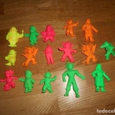 Figuras de Goma y PVC: LOTE 16 FIGURAS DRAGON BALL BOLA DE DRAGON MATUTANO YOLANDA AÑOS 80 90 PVC GOMA KRILIN GOKU. Lote 139651282