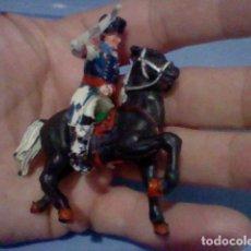 Figuras de Goma y PVC: LAFREDO CABALLO NAPOLEONICO OFICIAL PEQUEÑO FIGURA GOMARSA REAMSA JECSAN TAMAÑO PEQUEÑO . Lote 139689390