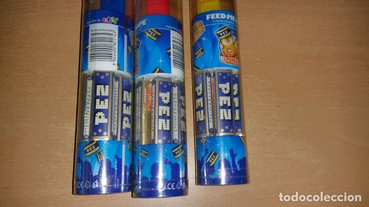 Dispensador Pez: 3 dispensadores PEZ MICKEY MOUSE Charity Edition 80 aniversario - Foto 3 - 139702358