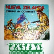 Figuras de Goma y PVC: MONTAPLEX SOBRE Nª 160 NUEVA ZELANDA VACÍO + 1 COLADA DE SOLDADOS NEOZELANDESES ANZAC. Lote 139706034