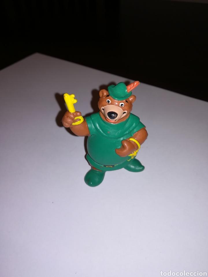WALT DISNEY FIGURA PVC JOHN LITTLE PERSONAJE DE ROBIN HOOD BULLY ENRLAG (Juguetes - Figuras de Goma y Pvc - Bully)