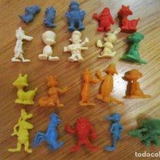 Figuras de Goma y PVC: LOTE DE 20 FIGURAS DUNKIN. WARNER BROS LOONEY TUNES PHOSKITOS FIGURAS PVC . Lote 139753494
