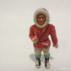 Figuras de Goma y PVC: FIGURA ESQUIMAL SOTORRRES GOMA. Lote 139761466