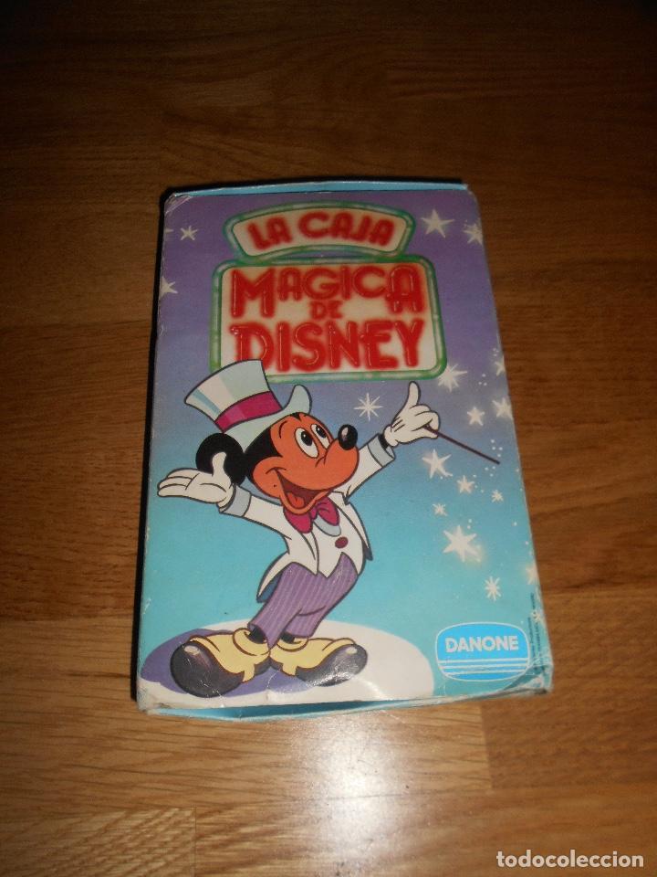 Figuras de Goma y PVC: Caja Mágica de Disney, figuras Dunkin, publicidad Danone. 12 personajes, completa. Buen estado - Foto 4 - 139779650