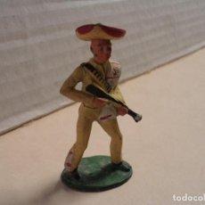 Figuras de Goma y PVC: FIGURA DE GOMA MEJICANO STARLUX. Lote 139874990