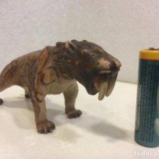 Figuras de Goma y PVC: SCHLEICH - SMILODON - TIGRE DIENTES DE SABLE - SERIE PREHISTORICA. Lote 139897410