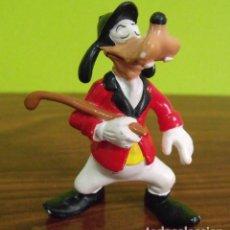 Figuras de Goma y PVC: FIGURA PVC GOMA DURA PERRO GOOFY - BULLY - WALT DISNEY. Lote 140059334