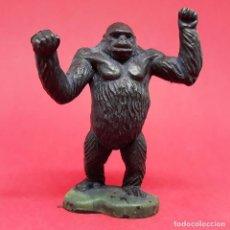 Figuras de Goma y PVC: FIGURA GORILA BRITAINS ANIMALES SALVAJES ZOO VINTAGE MADE IN ENGLAND MONO SIMIO. Lote 140085318