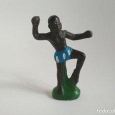 Figuras de Goma y PVC: FIGURA ÁFRICA SALVAJE GOMA. Lote 140110806