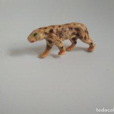 Figuras de Goma y PVC: FIGURA LEOPARDO AÑOS 60. Lote 140111194