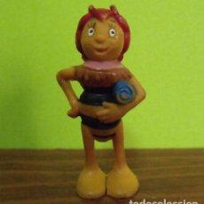 Figuras de Goma y PVC: FIGURA PVC GOMA DURA SEÑORITA CASANDRA - ABEJA MAYA. Lote 140144218