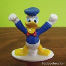 Figuras de Goma y PVC: FIGURA PVC GOMA DURA PATO DONALD ENFADADO - WALT DISNEY. Lote 140161594