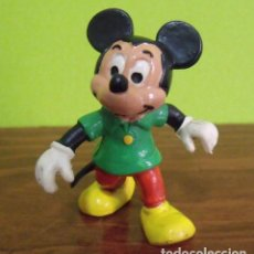 Figuras de Goma y PVC: FIGURA PVC GOMA DURA MICKEY MOUSE - BULLY - WALT DISNEY. Lote 140166566