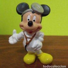 Figuras de Goma y PVC: FIGURA PVC GOMA DURA DOCTOR MICKEY MOUSE - BULLYLAND - WALT DISNEY. Lote 140166730