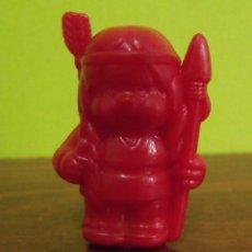 Figuras de Goma y PVC: FIGURA INDIO CAPUCHÓN LÁPIZ OBSEQUIO DETERGENTE BONUX - SEKIGUCHI MONCHICHI - DUNKIN. Lote 140178734
