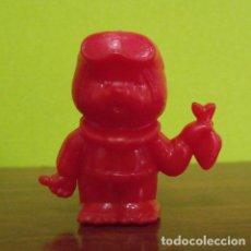 Figuras de Goma y PVC: FIGURA BUZO CAPUCHÓN LÁPIZ OBSEQUIO DETERGENTE BONUX - SEKIGUCHI MONCHICHI - DUNKIN. Lote 140179110