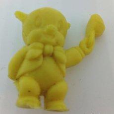 Figuras de Goma y PVC: PORKY MONOCOLOR AMARILLO. Lote 140184686