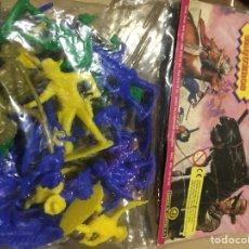 Figuras de Goma y PVC: JUGUETES INDIOS Y VAQUEROS DE PLÁSTICO GENERAL DE JUGUETES. Lote 140190734