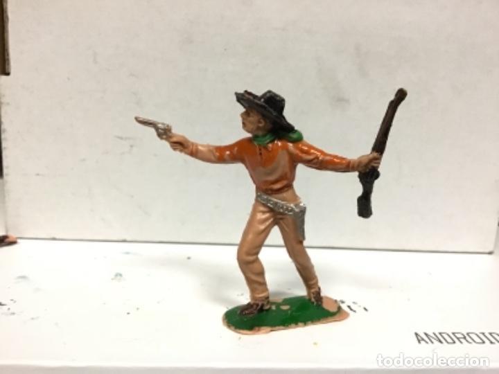 FIGURA VAQUERO JECSAN OESTE COWBOY (Juguetes - Figuras de Goma y Pvc - Jecsan)