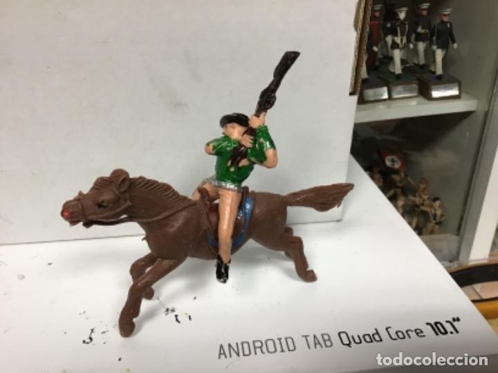 Figuras de Goma y PVC: FIGURA VAQUERO JECSAN OESTE COWBOY - Foto 2 - 140197358