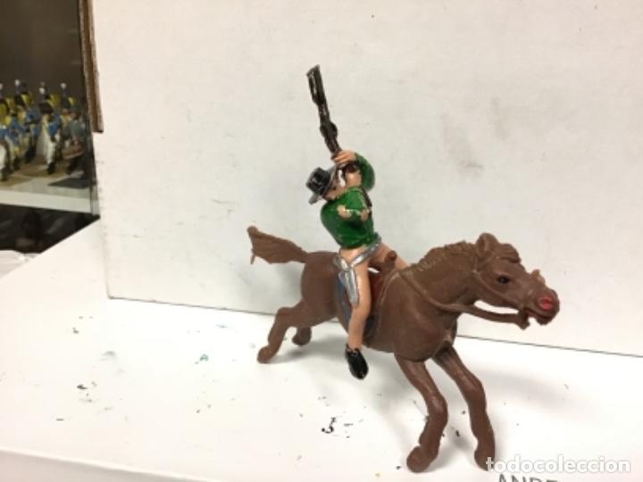 Figuras de Goma y PVC: FIGURA VAQUERO JECSAN OESTE COWBOY - Foto 3 - 140197358