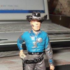 Figuras de Goma y PVC: SHERIFF DE JECSAN,SERIE PALADINES DEL OESTE,AÑOS 60 Ó 70. Lote 140202614