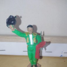 Figuras de Goma y PVC: TORERO DE JECSAN TOROS TAUROMAQUIA BUEN ESTADO. Lote 140209898