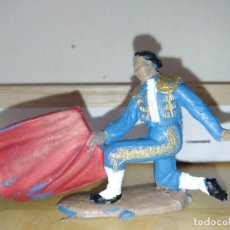 Figuras de Goma y PVC: TORERO DE JECSAN TOROS TAUROMAQUIA BUEN ESTADO. Lote 140209966