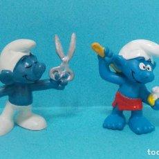 Figuras de Goma y PVC: PITUFO - ORIGINAL SCHLEICH. Lote 140272460