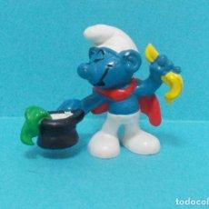 Figuras de Goma y PVC: PITUFO - ORIGINAL SCHLEICH - MAGO. Lote 140273273
