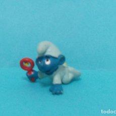 Figuras de Goma y PVC: PITUFO - ORIGINAL SCHLEICH. Lote 140275021