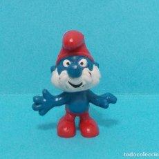 Figuras de Goma y PVC: PAPA PITUFO - ORIGINAL SCHLEICH. Lote 140275221