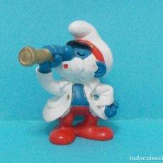 Figuras de Goma y PVC: PAPA PITUFO - ORIGINAL SCHLEICH. Lote 140275237