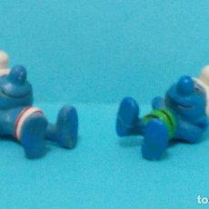 Figuras de Goma y PVC: LOTE DE PITUFOS - ORIGINAL SCHLEICH - VARIANTES. Lote 140275245