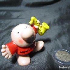 Figuras de Goma y PVC: ZIGGY 1986 BULLY MUSIC IS MY LIFE. Lote 140300822