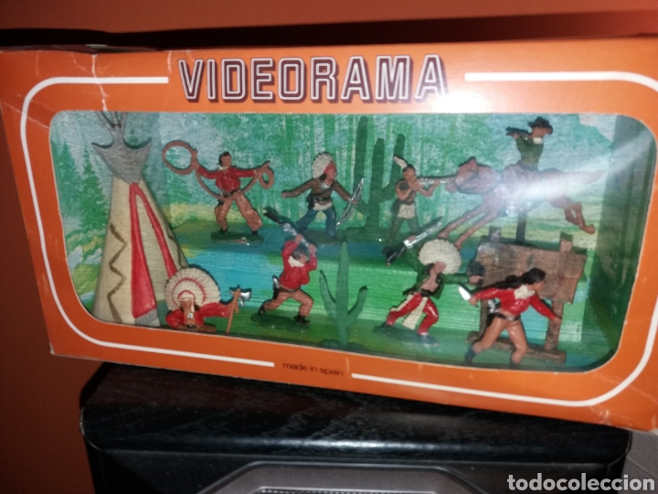 ANTIGUA CAJA VIDEORAMA REAMSA - NUEVA ¡¡ (Juguetes - Figuras de Goma y Pvc - Reamsa y Gomarsa)