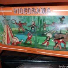 Figuras de Goma y PVC: ANTIGUA CAJA VIDEORAMA REAMSA. Lote 155870989