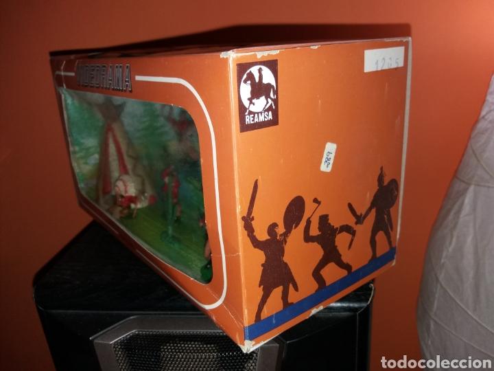 Figuras de Goma y PVC: Antigua caja VIDEORAMA REAMSA - Foto 2 - 155870989