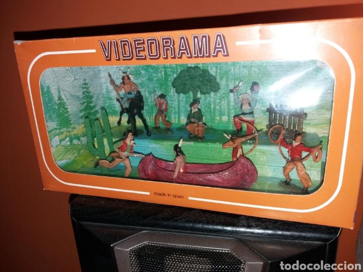 ANTIGUA CAJA VIDEORAMA REAMSA (Juguetes - Figuras de Goma y Pvc - Reamsa y Gomarsa)